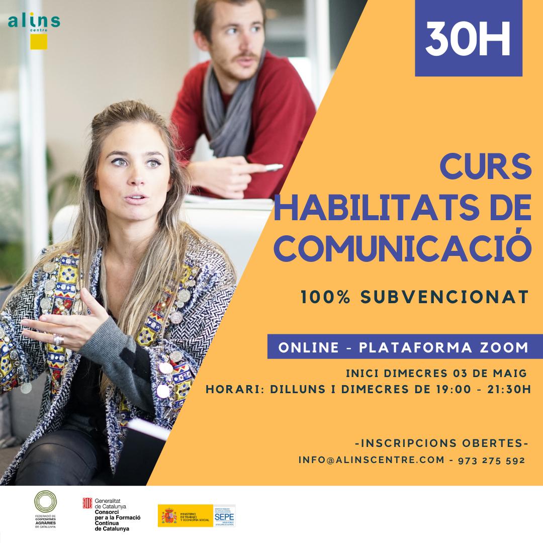 CURS HABILITATS DE COMUNICACIÓ